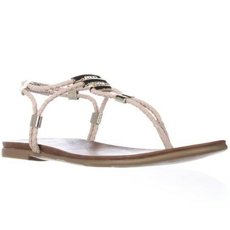 36c23b3e4 Madden - Womens madden girl Flexii Flat T-Strap Thong Sandals - Blush -  Walmart.com
