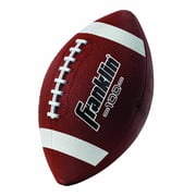 Franklin Sports Junior Size Rubber Football, Brown