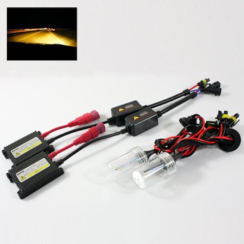 ModifyStreet® H7 35W Hi-Power Slim DC Ballast Xenon HID Conversion Kit - 3000K Yellow