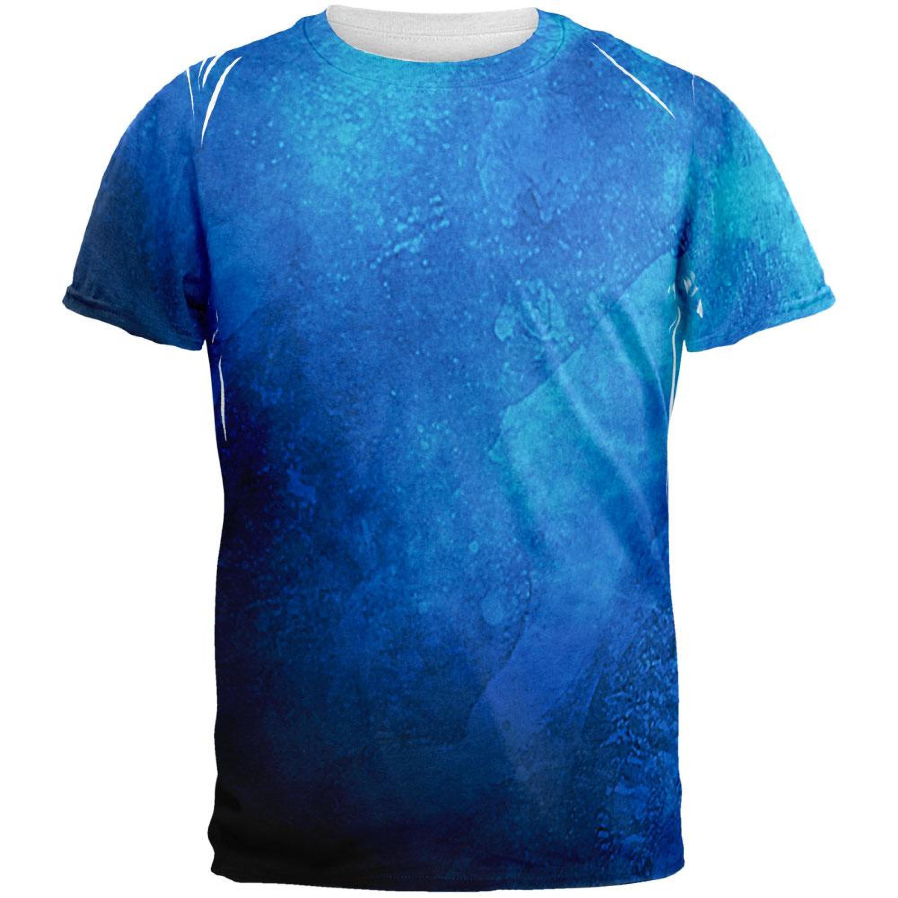 Solar System Planet Neptune All Over Adult T-Shirt