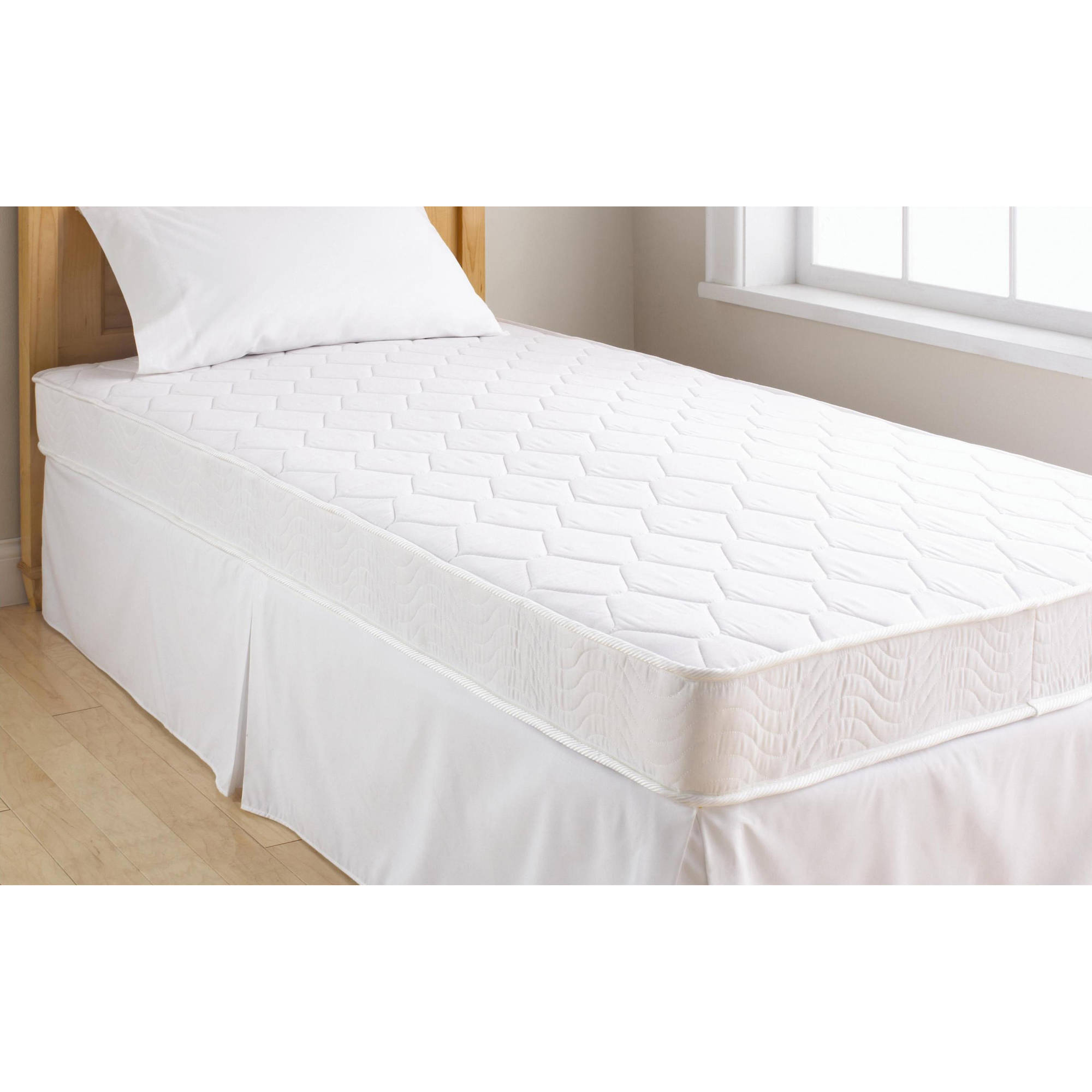 Mainstays 6 Inch Inner Spring Coil Mattress, Multiple Sizes