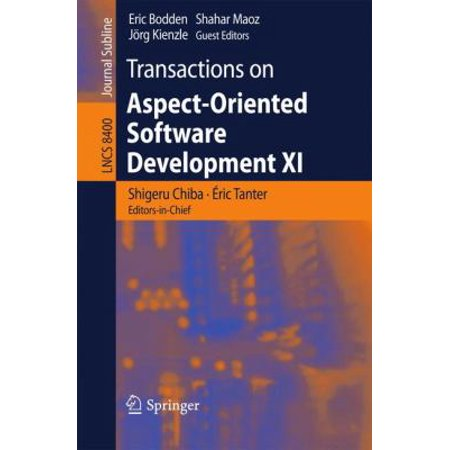 Transactions On Aspect Oriented Software Development Xi  2014