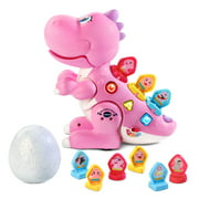 VTech Mix and Match-a-Saurus, Dinosaur Learning Toy for Kids, Pink