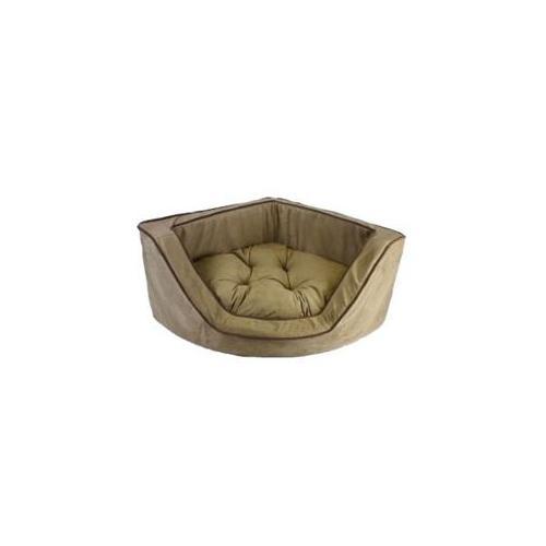 Snoozer Luxury Corner Pet Bed - Large/Peat/Coffee