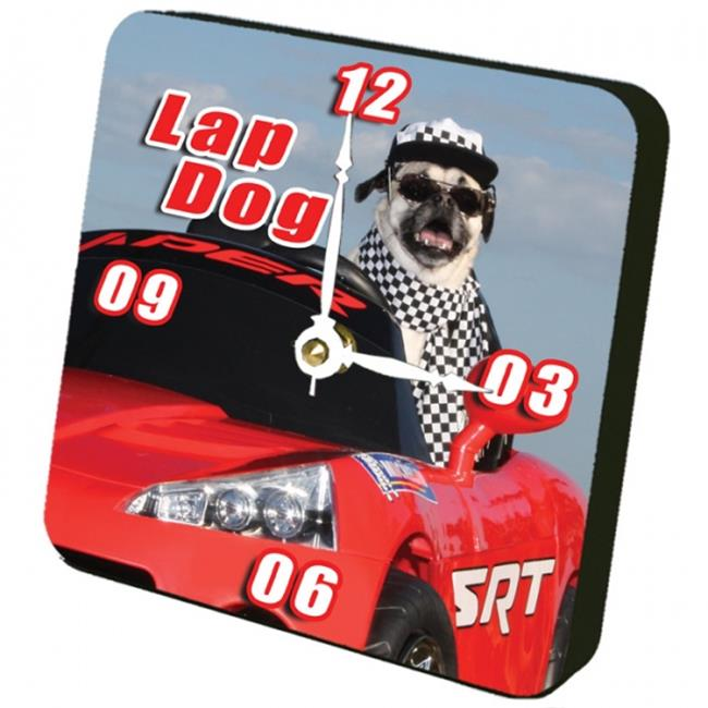 Lexington Studios 12123TT Lap Dog Tiny Times Clock by Lexington Studios