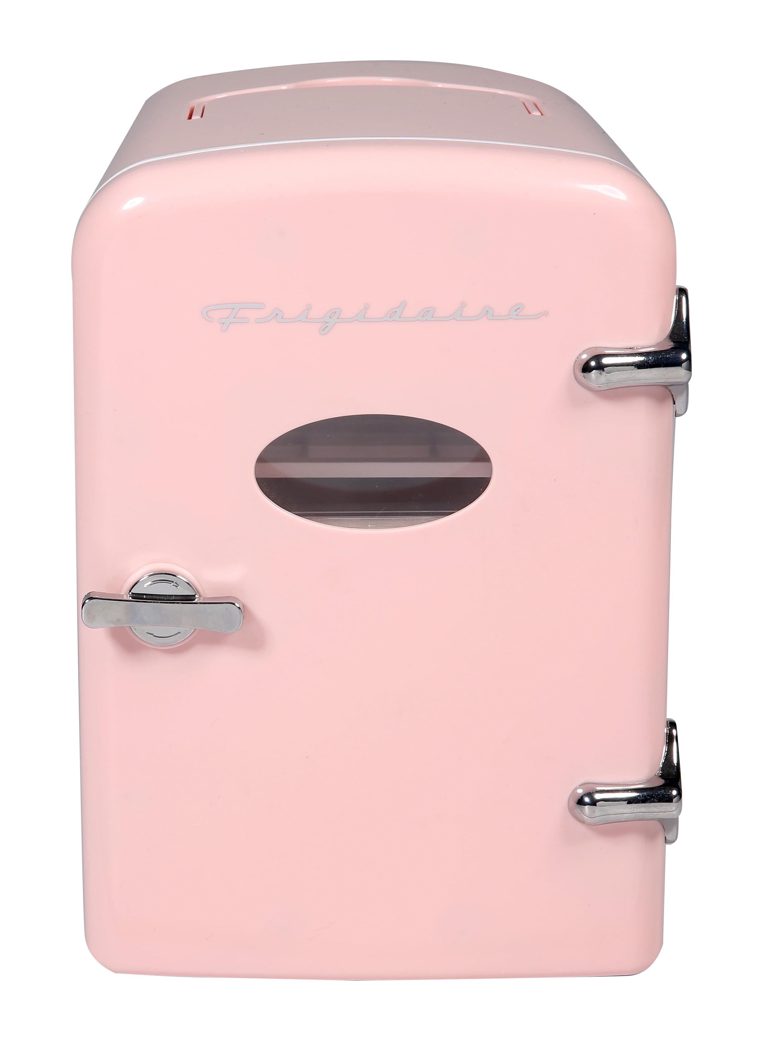 Frigidaire Portable Retro Extra Large 9-Can Mini Fridge EFMIS175, Pink