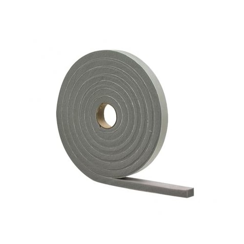 "M-D Building Products 2279 1/4"" x 1/2"" x 17' High Density Closed Cell Foam Weatherstrip Tape"