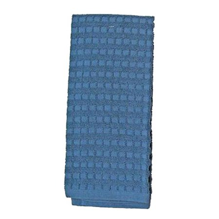 Blue Dish Towel - 7375 16 x 16 in. Blue 100 Percentage Cotton Kitchen Towel, Pack Of 3