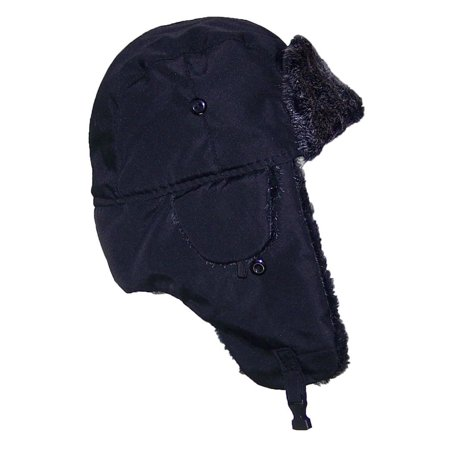 Best Winter Hats Big Kids Nylon Russian/Aviator Winter Hat (One Size) - (Best 5 Panel Hats 2019)