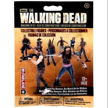 Walking Dead Collectible Figures Mystery Pack Humans