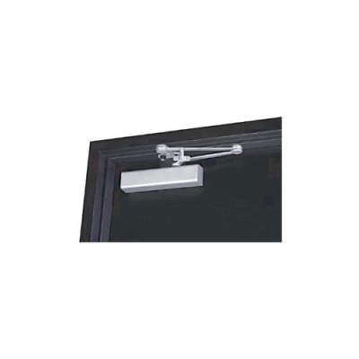 Norton 210 Series Door Closer, Aluminum Body, Size 1-6, Tri-Pack, Aluminum