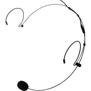 Nady HM-20U Headworn Uni-directional Microphone â Lightweight hands-free microphone use for singers, aerobics instructors, teachers etc, 3.5mm connection, Black color