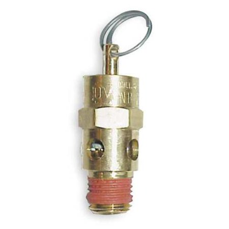 CONTROL DEVICES Air Safety Valve,1/4 In Inlet, 125 psi, ST25-1A125 Air Inlet Valve Actuator