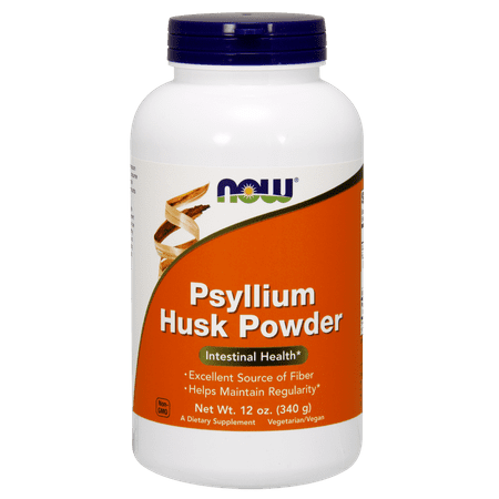 NOW PSYLLIUM HUSK POWDER 12 OZ.