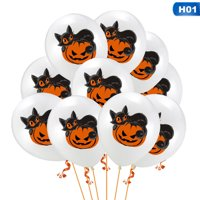 KABOER Halloween Balloons Decoration Party Supplies Halloween Skull Pumpkin Balloons Latex Balloons