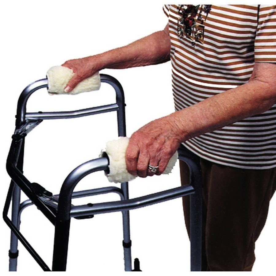 Sheepette® Synthetic Lambskin Walker Grip Covers