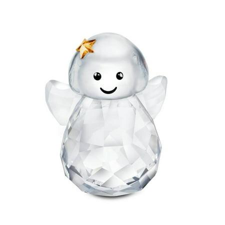 Swarovski Crystal Christmas Figurine ROCKING ANGEL #5103228
