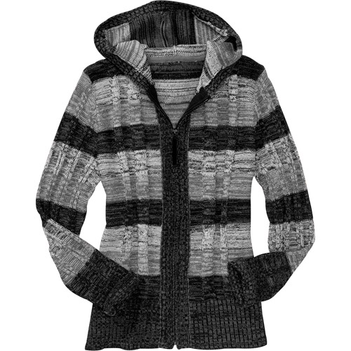 Just My Size Women's Plus-Size Cable Sweater Hoodie - Walmart.com