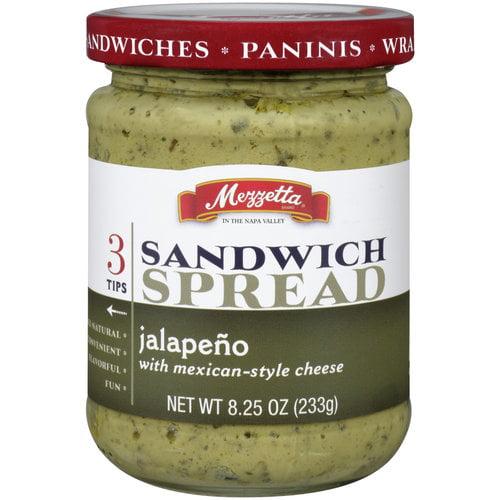 Mezzetta Jalapeno Sandwich Spread with Mexican Style Cheese, 8.25 oz
