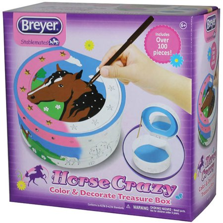 Breyer Horse Crazy Color and Decorate Treasure Box Kit