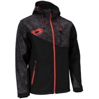 Castle X Barrier G2 Alpha Mens Tri-Laminate Jacket Black/Red SM