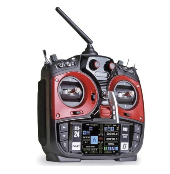 Graupner 12 Channel and Receiver Radio Control Set (Red)