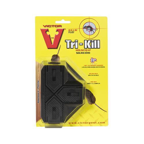 Woodstream M944 Victor Tri-Kill Mouse Trap-VICTR TRI-KIL MOUSE TRAP