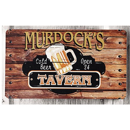 Personalized Metal Sign  Tavern