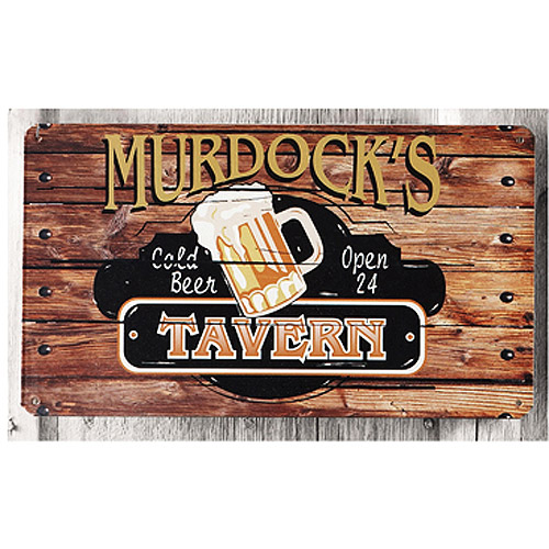 Personalized Metal Sign, Tavern