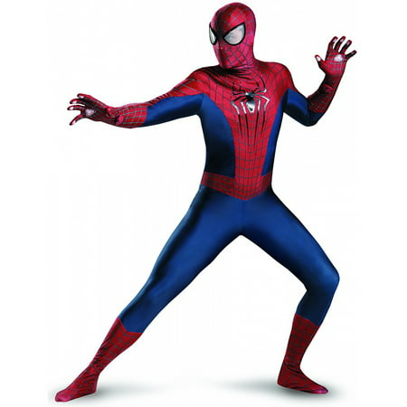 The Amazing Spider-Man 2 Theatrical Adult / Teen Costume Disguise (Spiderman Costumes Adults)