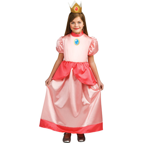 Mario Bros Princess Peach Child Halloween Costume  sc 1 st  Walmart & Mario Bros Princess Peach Child Halloween Costume - Walmart.com