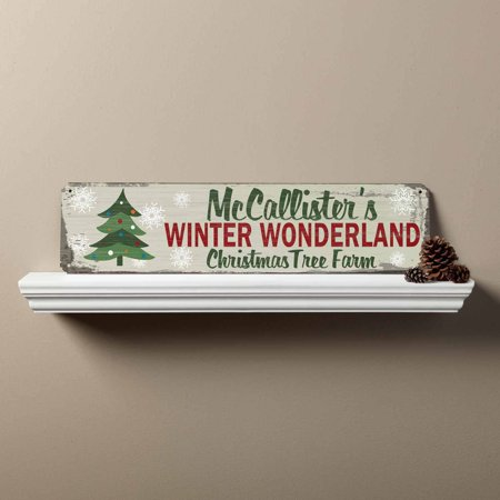 Personalized Winter Wonderland Sign](Winter Wonderland Table Names)