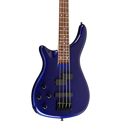 Rogue LX200BL Left-Handed Series III Electric Bass Guitar Metallic Blue by C.F. Martin & Co