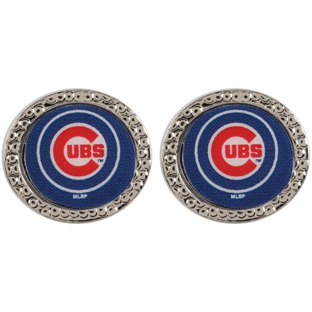 - Chicago Cubs WinCraft Women's Round Post Earrings - No Size