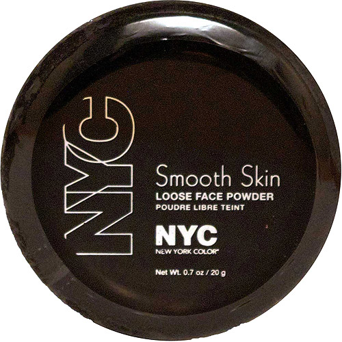 NYC New York Color Smooth Skin Loose Face Powder, 702 Naturally Beige, 0.7 oz
