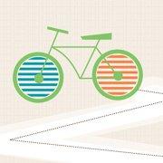 Trendy Peas Bike Wall Art