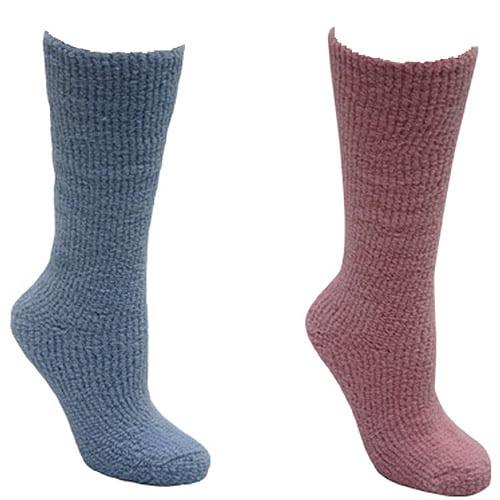 MUK LUKS Women's Micro Chenille Knee High Sock -