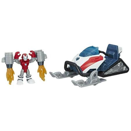 Playskool Heroes Marvel Super Hero Adventures Iron Man Arc-Tech - Gangster Superheroes