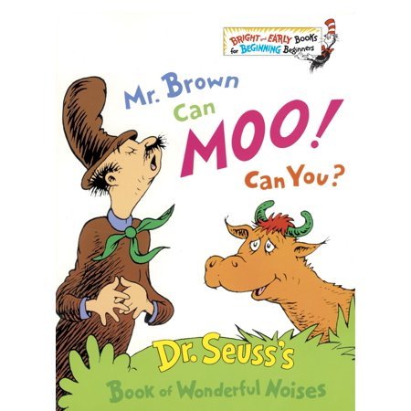 Mr. Brown Can Moo! Can You? (Hardcover) ()