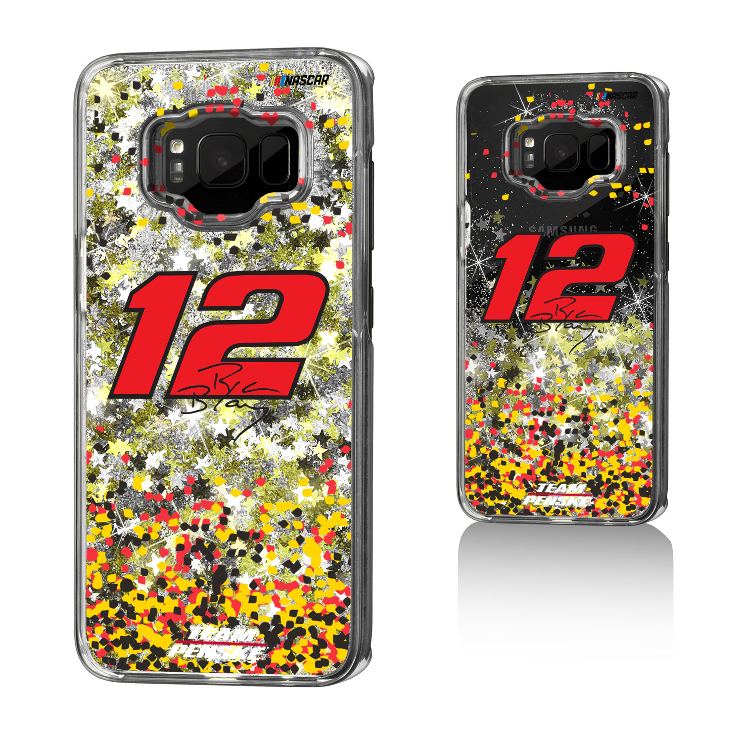 Ryan Blaney Confetti Glitter Case for Galaxy S8