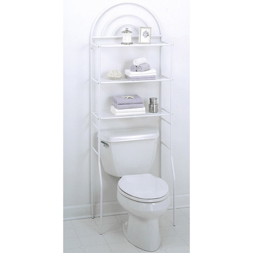 Arch Space Saver, White