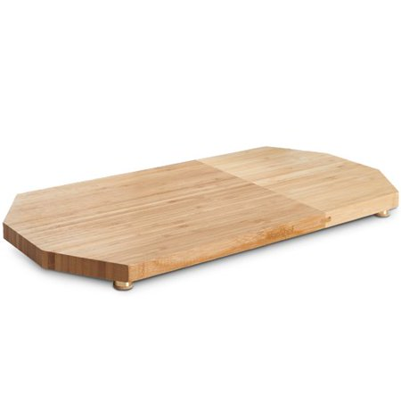 VonShef Bamboo Wooden Cheese Board & Platter ()