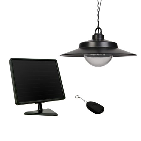Sunforce Solar Hanging Light with Remote Control Remote Solar Lighting