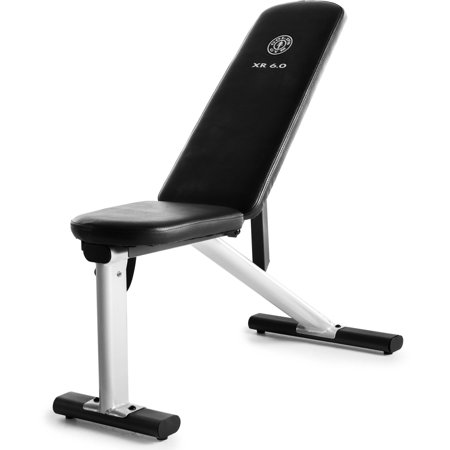 Gold's Gym XR 6.0 Adjustable Weight Bench with Exercise