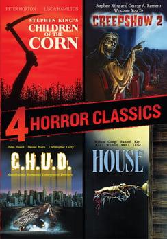 4 Horror Classics (DVD) by Rlj Ent/Sphe