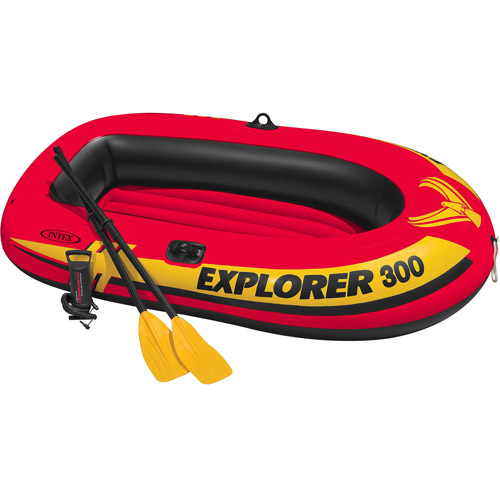 Intex 3-Person Inflatable Explorer Boat