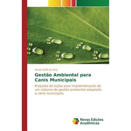 Gestao Ambiental Para Canis Municipais (Nicole Da Silva)