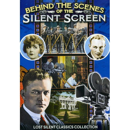 Behind the Scenes of the Silent Screen (DVD)