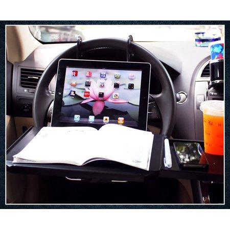 Zone Tech Multi-Functional Portable Car Seat Tray - Black Table/Car ...