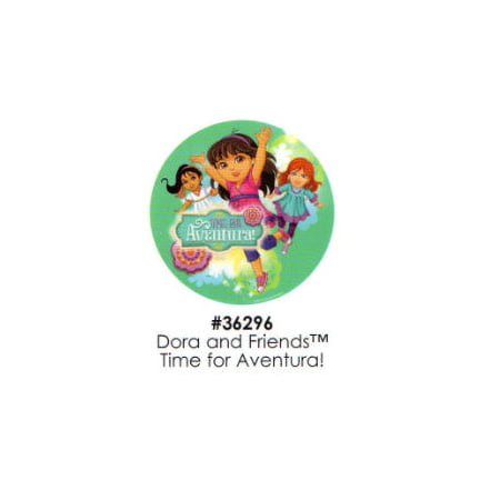 Dora And Friends Cake (Dora and Friends Time for Aventura! Cake Decoration Edible Frosting Photo)